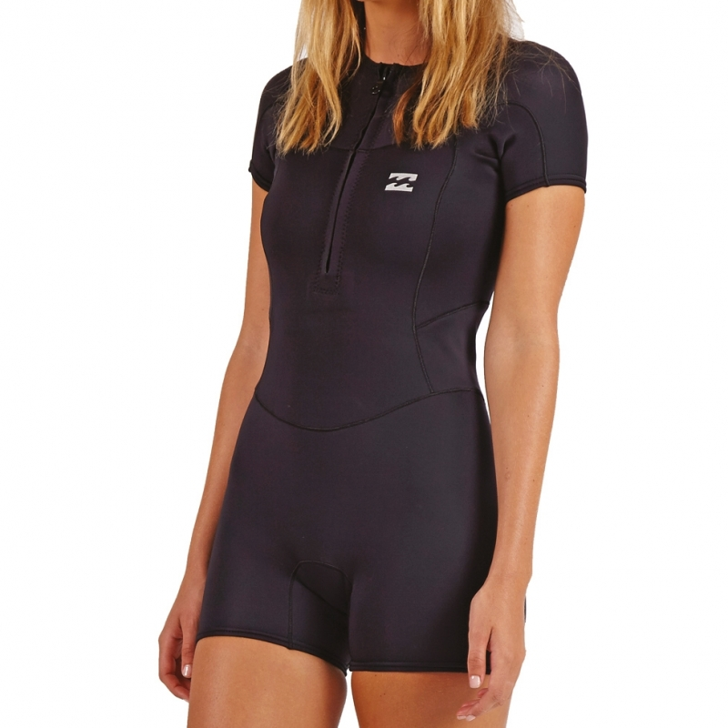 Billabong 1mm Womens Synergy Shorty Wetsuit