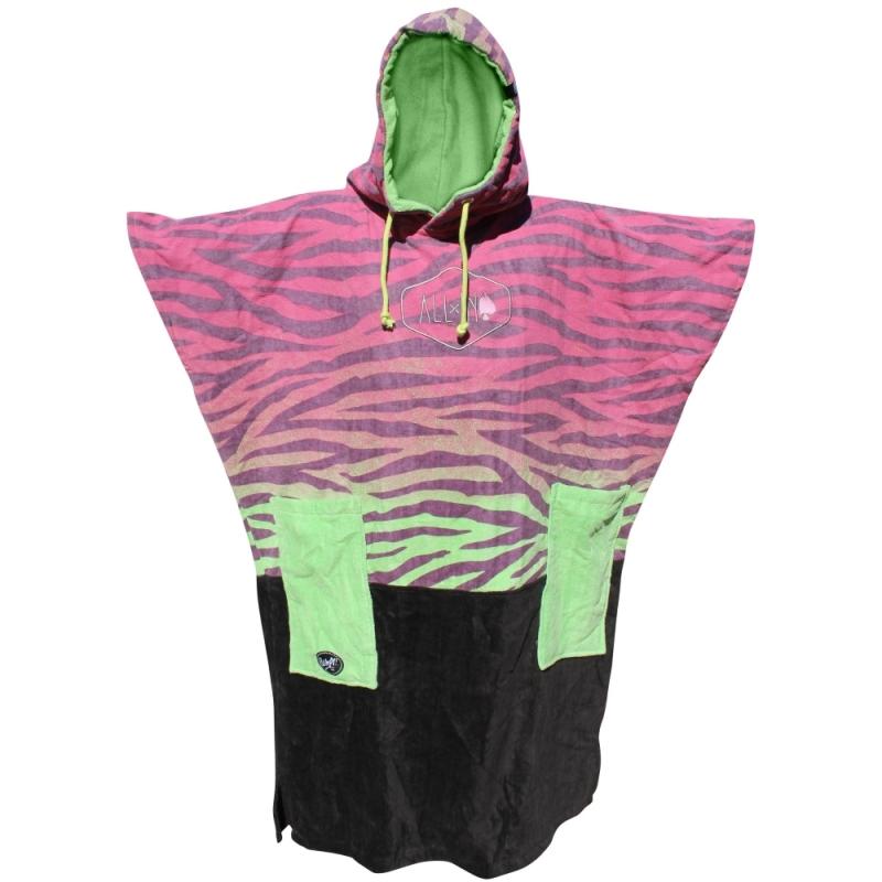 All-In V Junior Beach Changing Robe Zebra