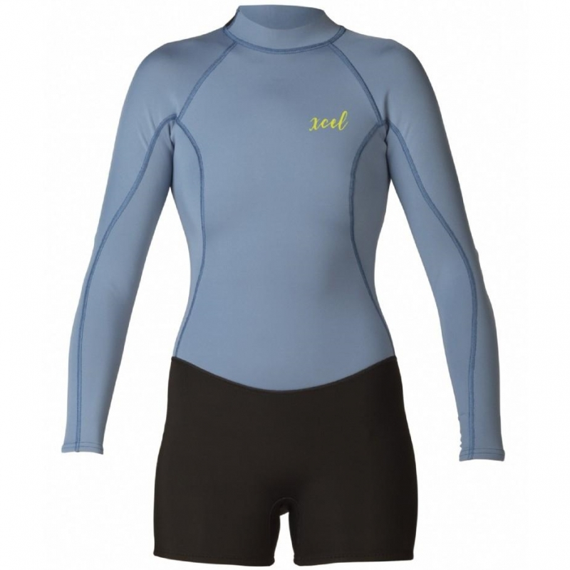 Xcel 2mm Womens Axis L/S Springsuit