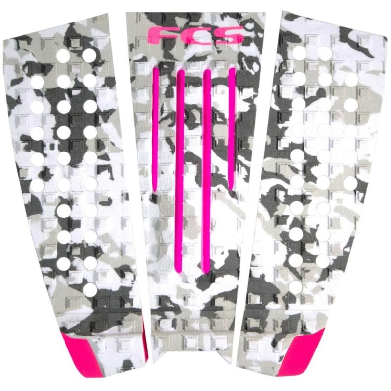 FCS Julian Wilson Surfboard Tail Pad Camo Pink