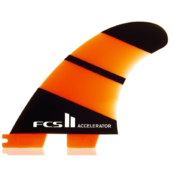 FCS II Accelerator Neo Glass Thruster Surfboard Fins Small
