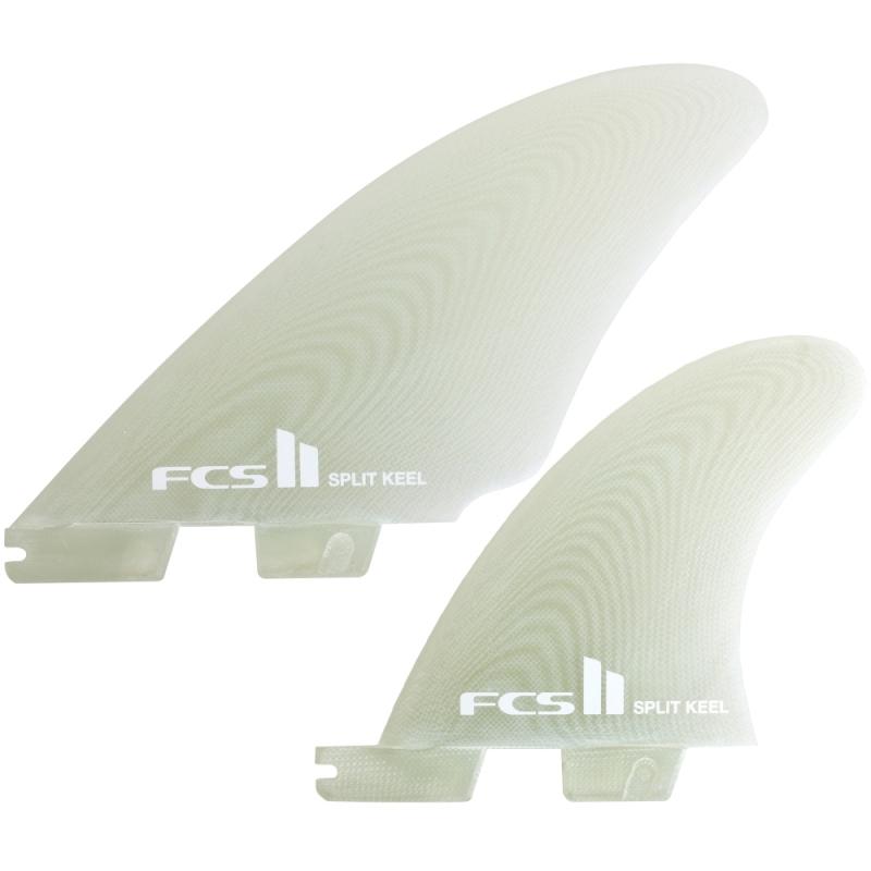 FCS II Split Keel Quad Surfboard Fin Set