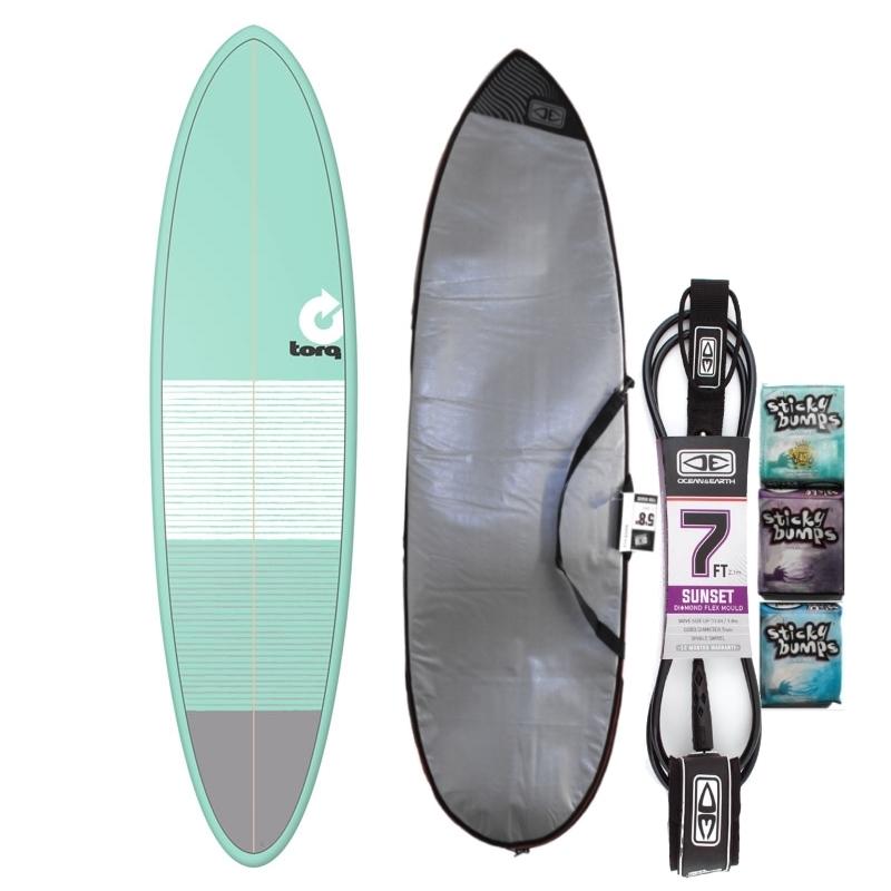 Torq 7ft2 Mini Mal Surfboard Package Lines