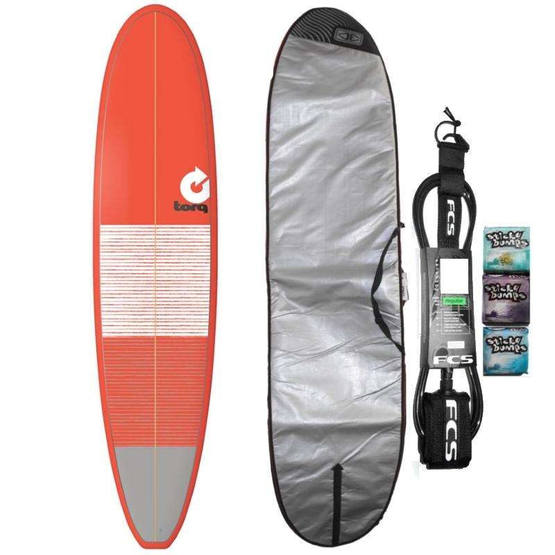 Torq 8ft Longboard Surfboard Package Lines