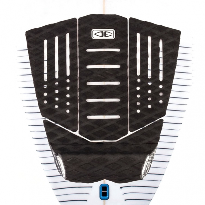 Ocean Earth Launch Surfboard Tail Pad Black
