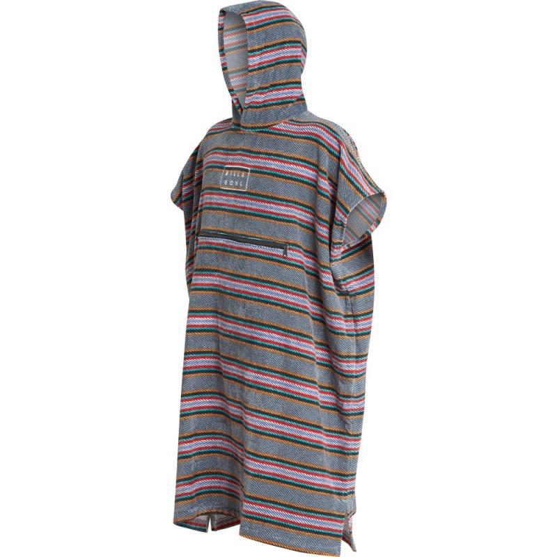 Billabong Hooded Poncho Beach Basha Changing Robe Slate