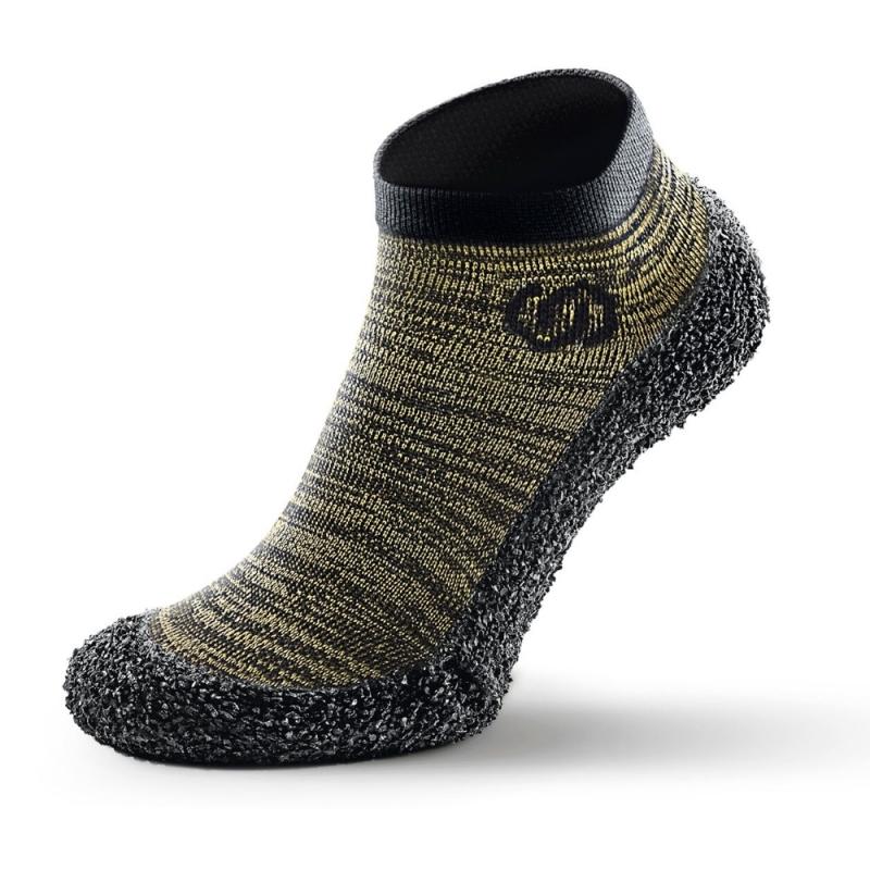 Skinners Sock Shoes Olive Green Marl
