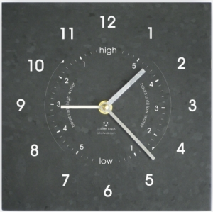Ashortwalk Recycled Time and Tide Clock