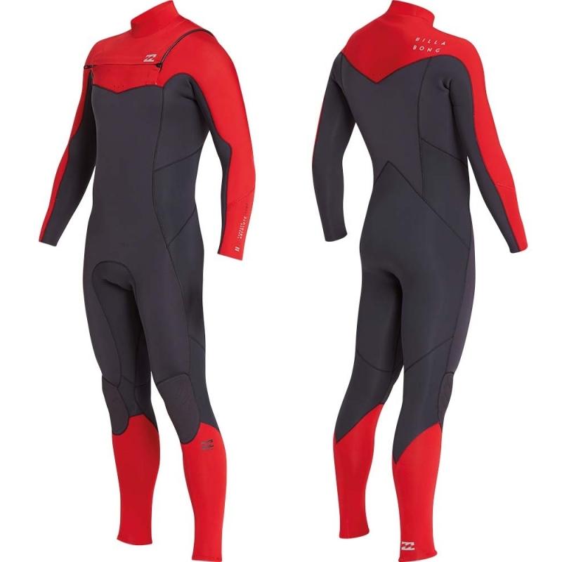Billabong 5/4mm Furnace Absolute Wetsuit CZ Red