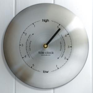 Ashortwalk Stainless Steel Classic Tide Clock