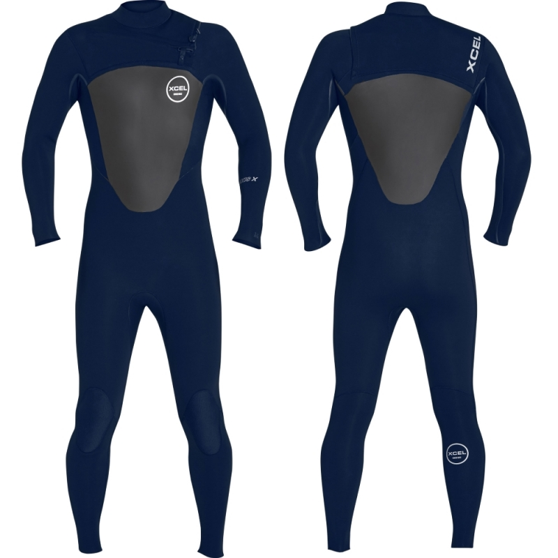 Xcel Wetsuits 4/3mm Axis X Wetsuit Ink Blue