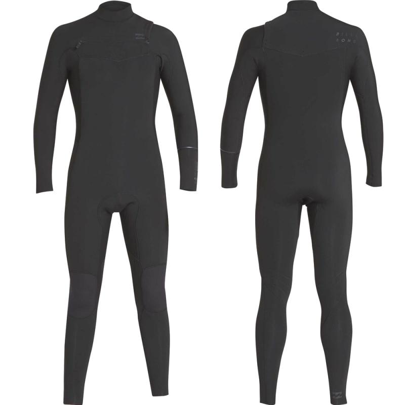 Billabong 4/3mm Furnace Revolution Wetsuit Black