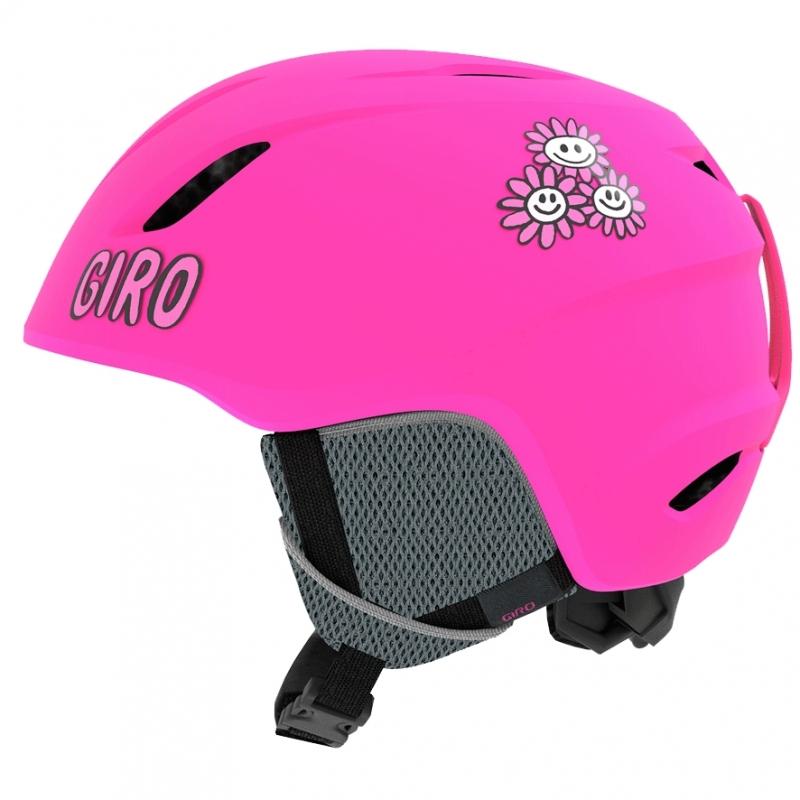 Giro Launch Girls Ski Helmet Bright Pink Daizee