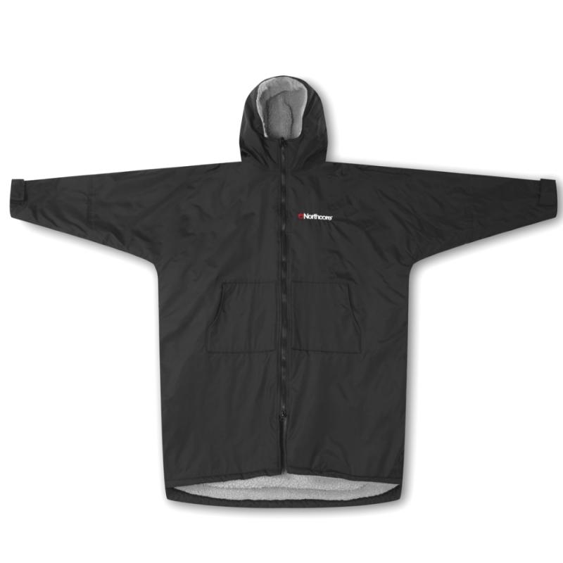Northcore Beach Basha Sport Changing Robe Black