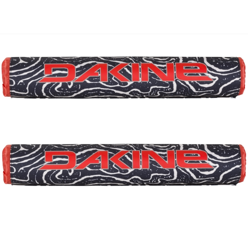 Dakine 18 Inch Roof Bar Pads Lava Tubes