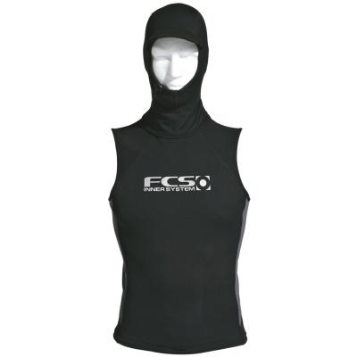 FCS Thermal Hooded Neoprene Metalite Wetsuit Rash Vest
