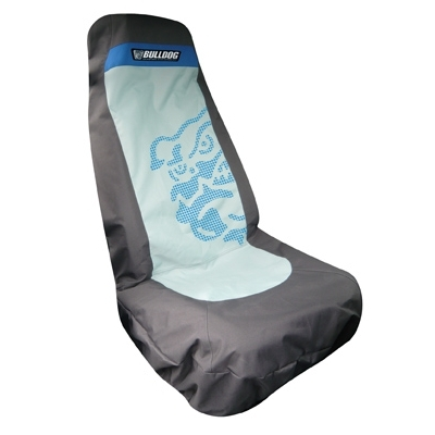 Bulldog Single Car Seat Seat Cover for Surfers
