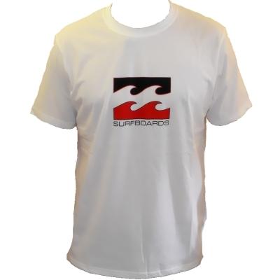 Billabong B Board T Shirt White