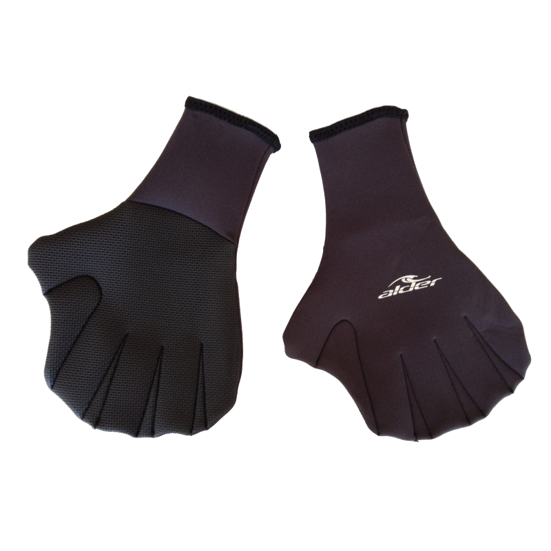 Alder Webbed Wetsuit Paddle Gloves